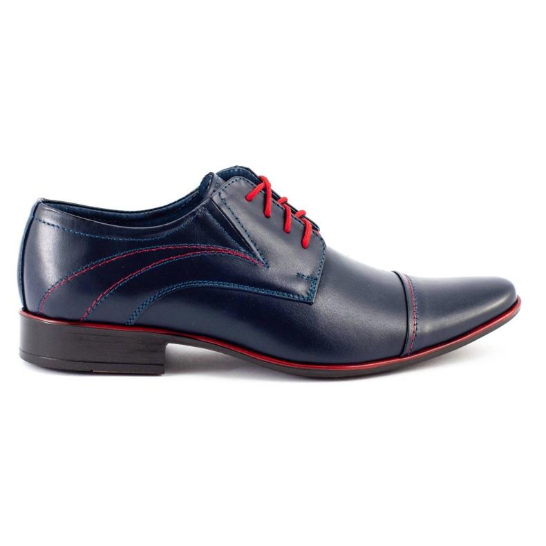 Lukas Men's formal shoes 238 navy blue