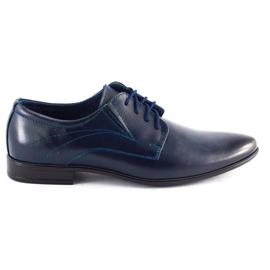 Lukas Men's formal shoes 256 navy blue