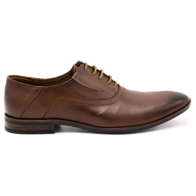 Lukas Men's formal shoes 291 brown