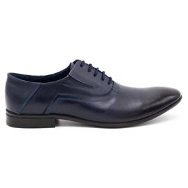 Lukas Men's formal shoes 291 navy blue