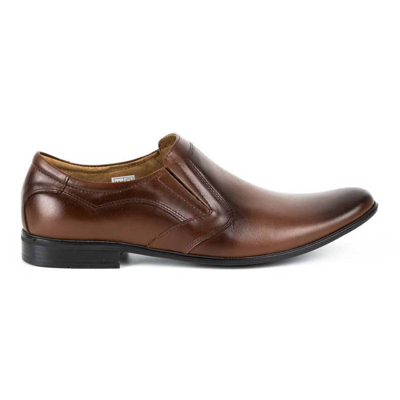 Lukas Men's formal, slip-on shoes 284 brown