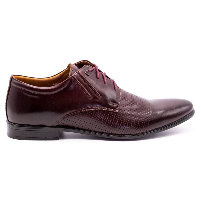 Olivier Burgundy formal shoes 482 red multicolored