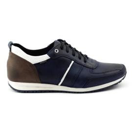 Polbut Men's shoes C21 navy blue