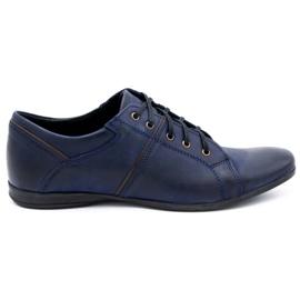 Polbut Men's shoes C25 navy blue