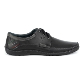Mario Pala Men's Loafers 539 Black