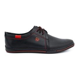 Polbut Leather shoes for men 343 black