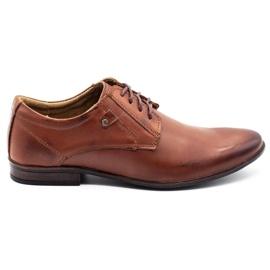 KOMODO Formal men's shoes 850 brown