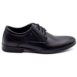 KOMODO Formal men's shoes 850 black mat