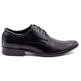 Lukas L5 black men's formal shoes