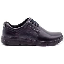 Joker Black men's leather shoes 506