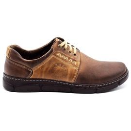Joker Men's leather shoes 506 brown