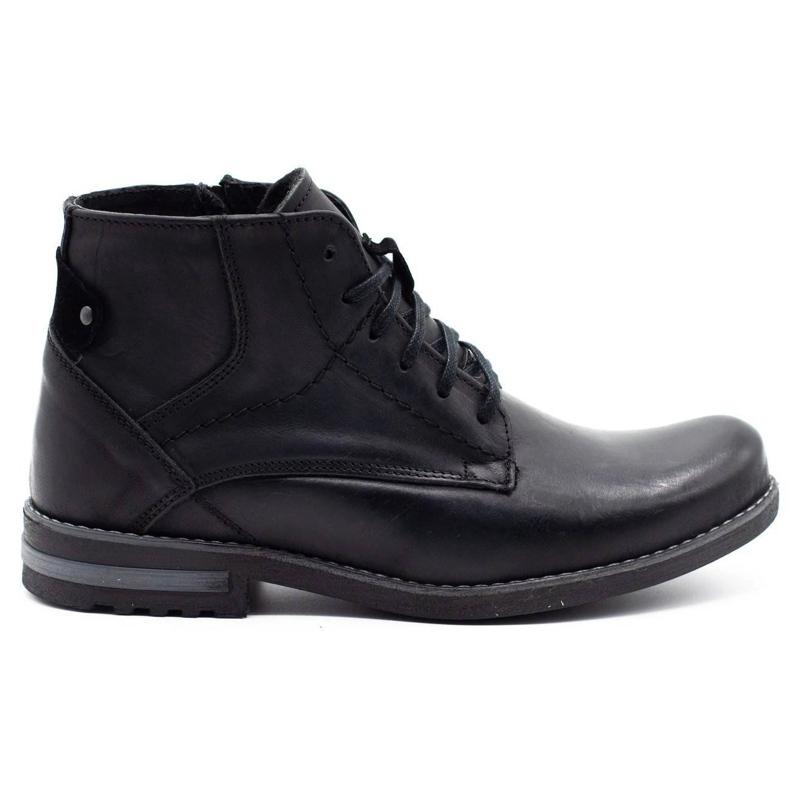 KOMODO Black men's winter boots 731K