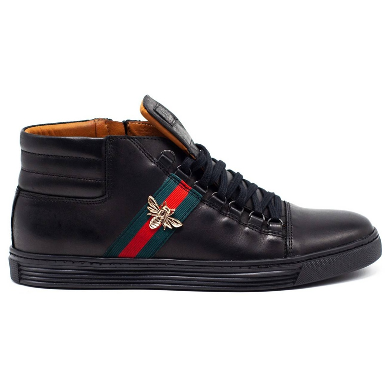 KENT 304V Men's Casual Shoes black