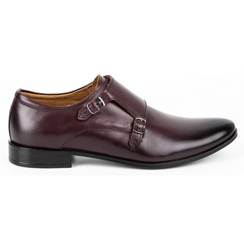 Lukas Leather formal shoes Monki 287LU cherry red
