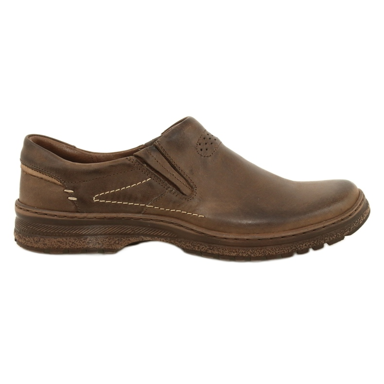 KOMODO Casual men's shoes 869 brown