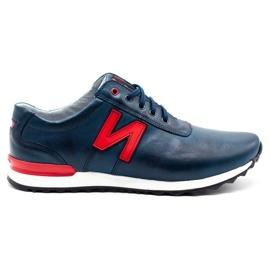 Joker Men's casual shoes 301J navy blue