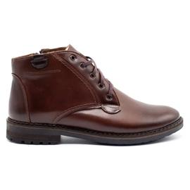 Mario Pala 911MP brown men's winter boots