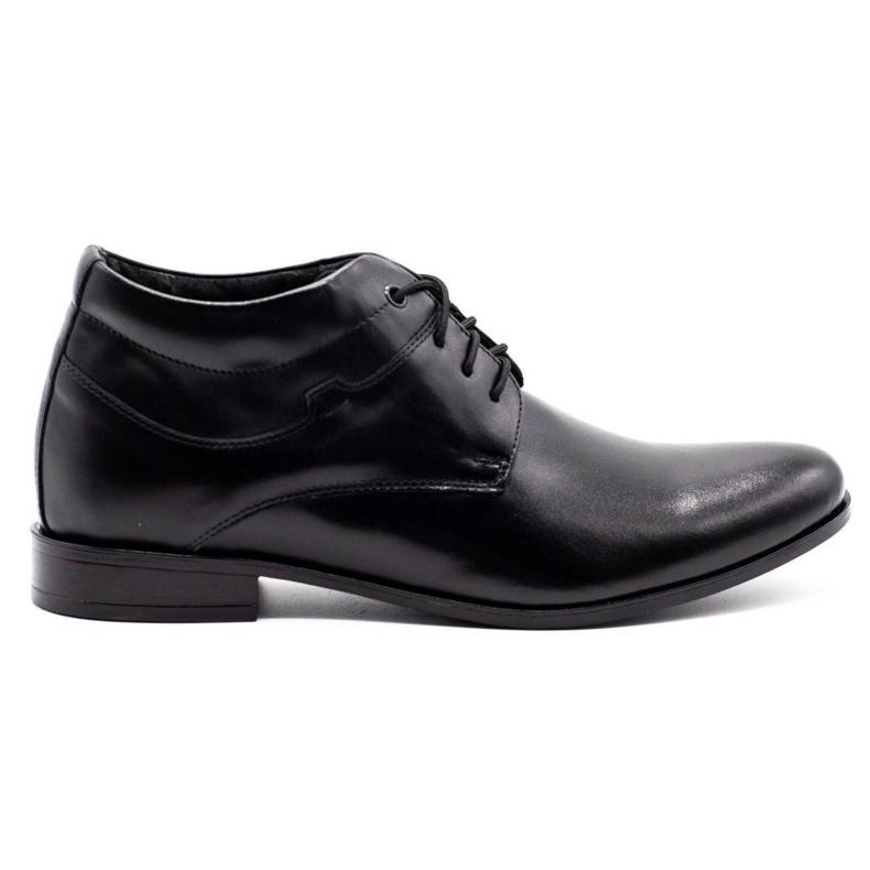 Lukas Black men's shoes increasing 300LU