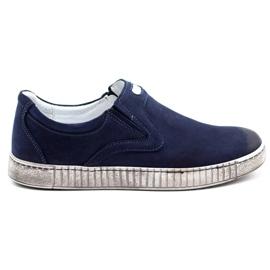 Joker Men's shoes 387V navy blue