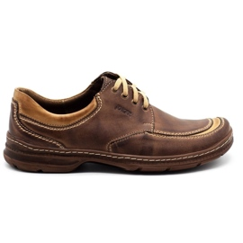Joker Leather men's shoes 936 brown