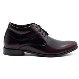 Lukas Men's elevator shoes 300LU cabir black