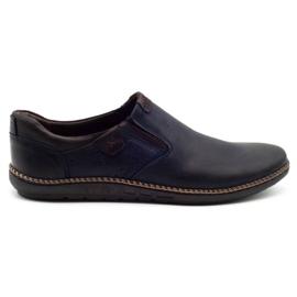 Polbut Men's shoes 401E navy blue