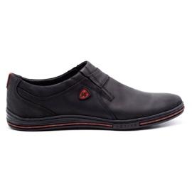 Polbut Men's Brogues Leather 362 Black