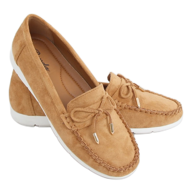 Camel RQ-2 Camel women's loafers brown