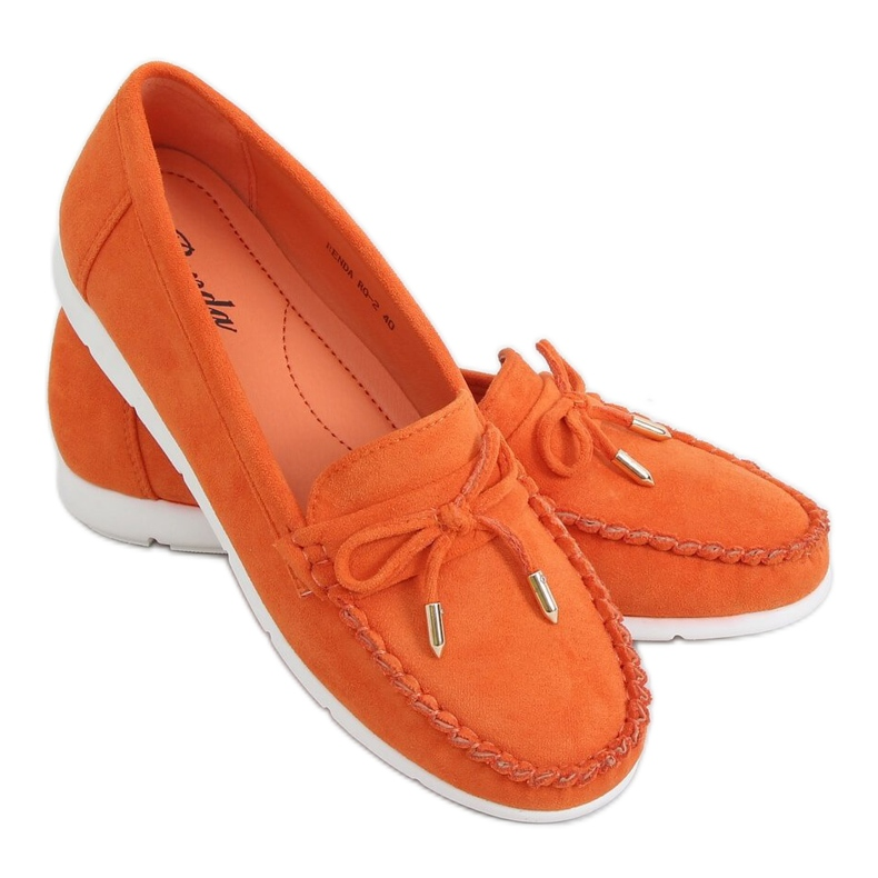 Orange women's loafers RQ-2 Orange