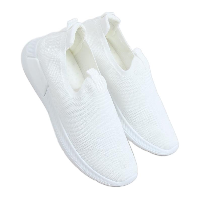 White sports socks C9273 Blanco