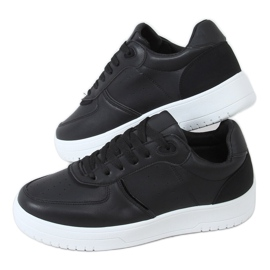 Black BL218P Black women's sports shoes