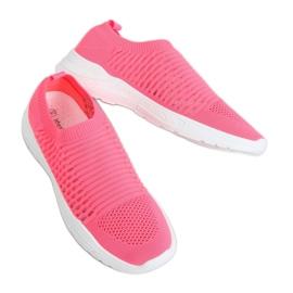 Pink 9862 Fushia socks sports shoes