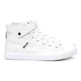 Men's High-top Sneakers Big Star White Y174024