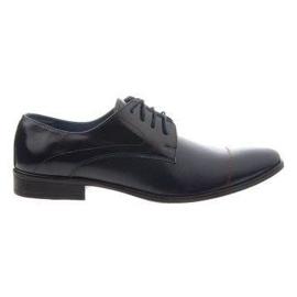 Men's formal shoes 199 navy blue