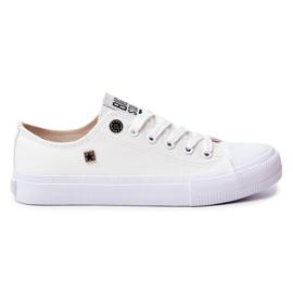 Women's Classic Low Sneakers Big Star AA274010 White