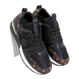 Black VL118P Black sports shoes