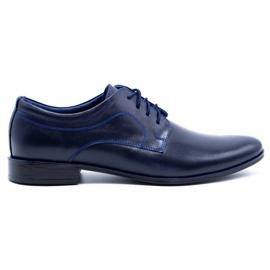 Lukas Men's formal shoes 447 navy blue
