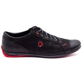 Joker Black casual men's shoes 295J