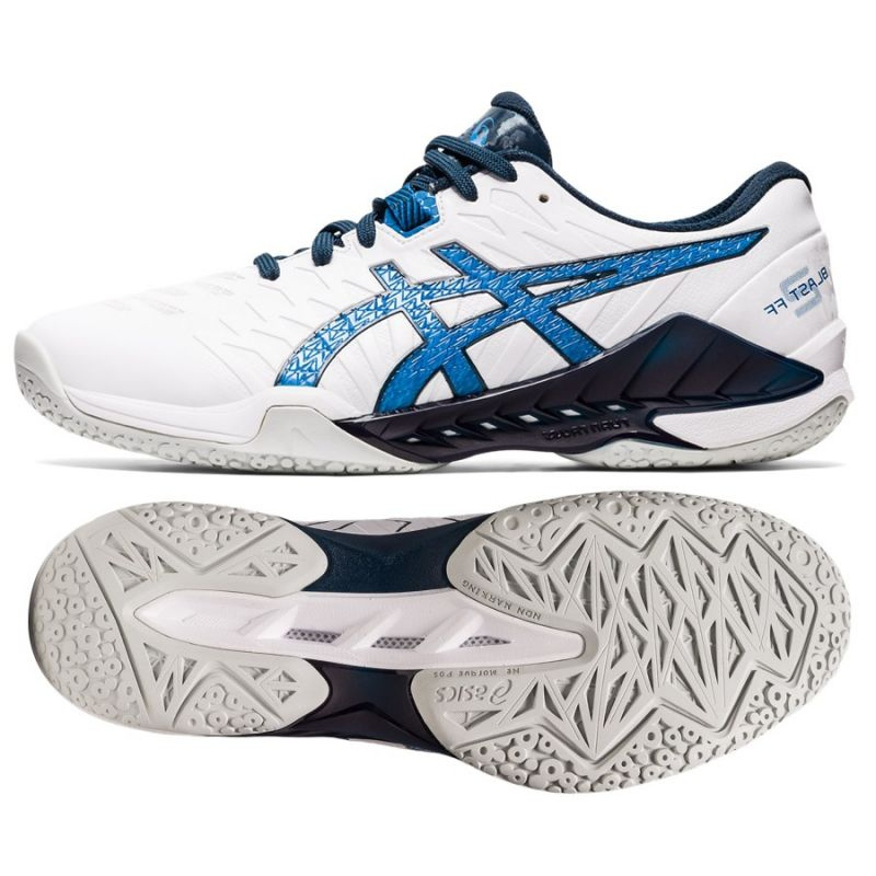 Handball shoes Asics Blast Ff 2 M 1071A044-101 multicolored white