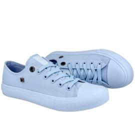 Women's Classic Low Sneakers Big Star AA274029 Light Blue