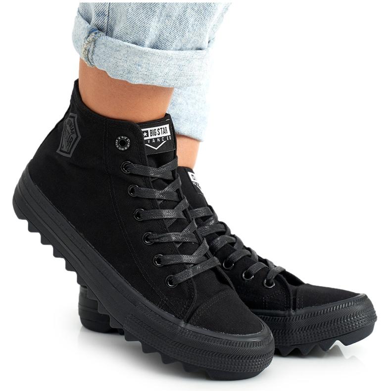 Women's High Sneakers Big Star FF274244 Black