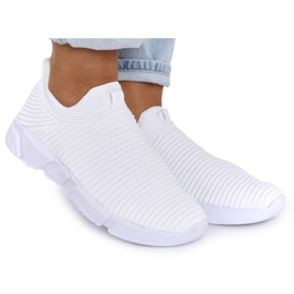 Women's Sport Shoes Slip-on Big Star DD274460 White
