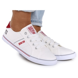 Women's sneakers Big Star DD274892 White-Red