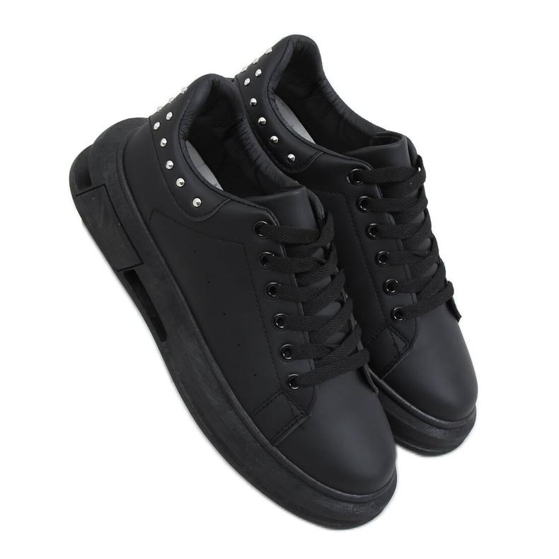 Black women's sneakers SC36 All Black