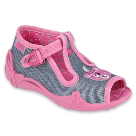 Befado children's shoes 213P125 navy pink