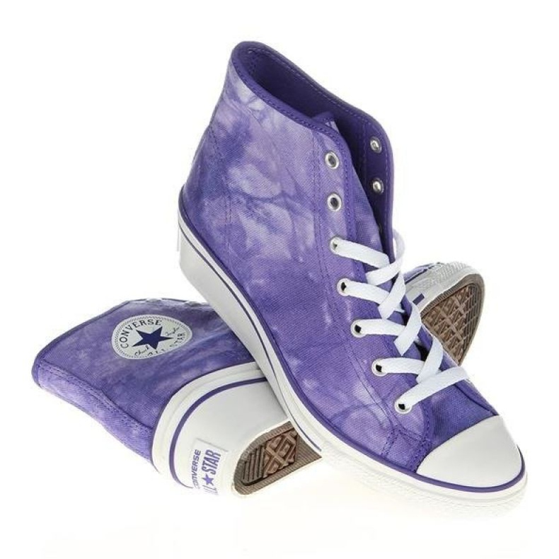 Converse Chuck Taylor Side W 542469F white violet