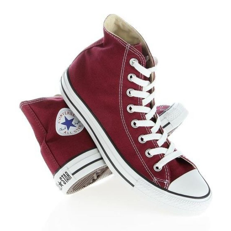 Converse Chuck Taylor Hi M9613 white red