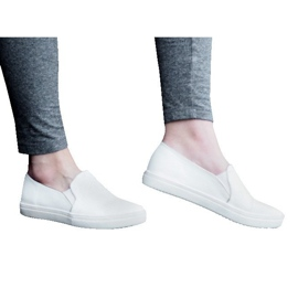 Classic Slip On TS9007 White Sneakers