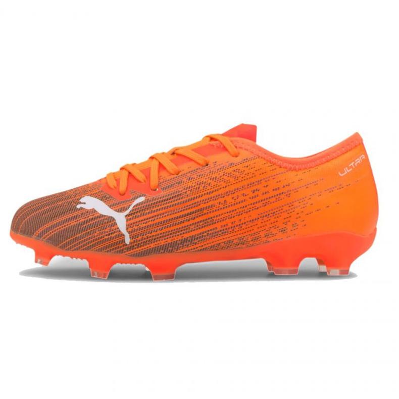 Football boots Puma Ultra 1.1 Fg Ag Jr 106097 01 multicolored orange