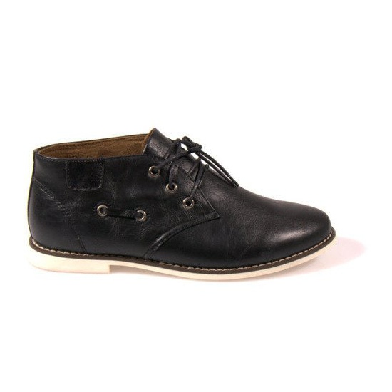 High Lace-Up Shoes TL8900 Black